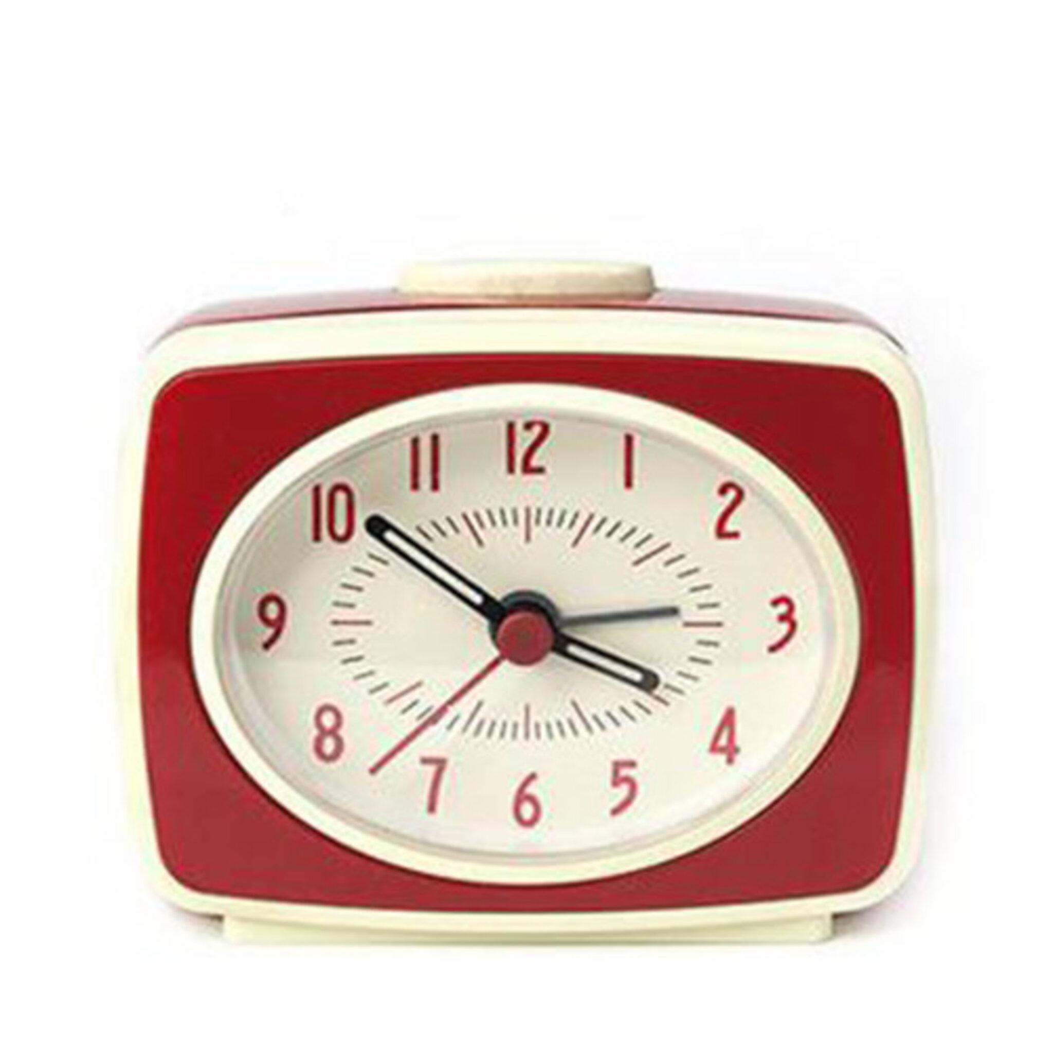 Väckarklocka, röd