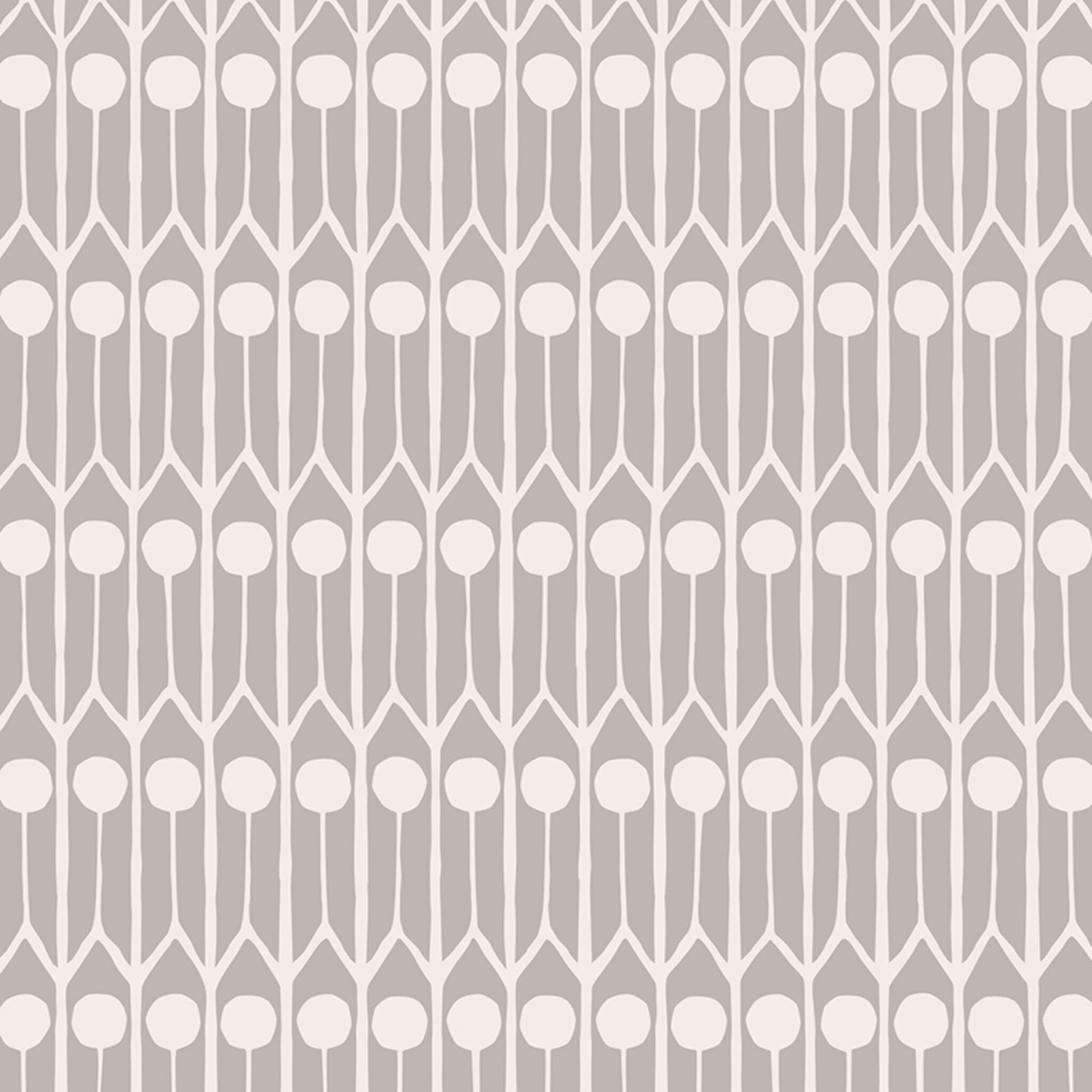 Tyg på löpmeter - Feathers linne/bomull, grå