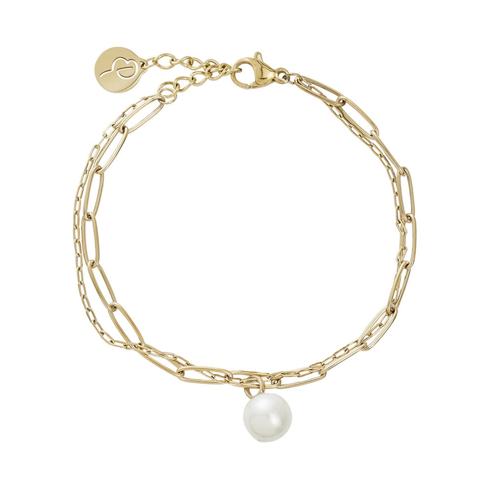 Berzelii Bracelet Layered Gold, ONE SIZE
