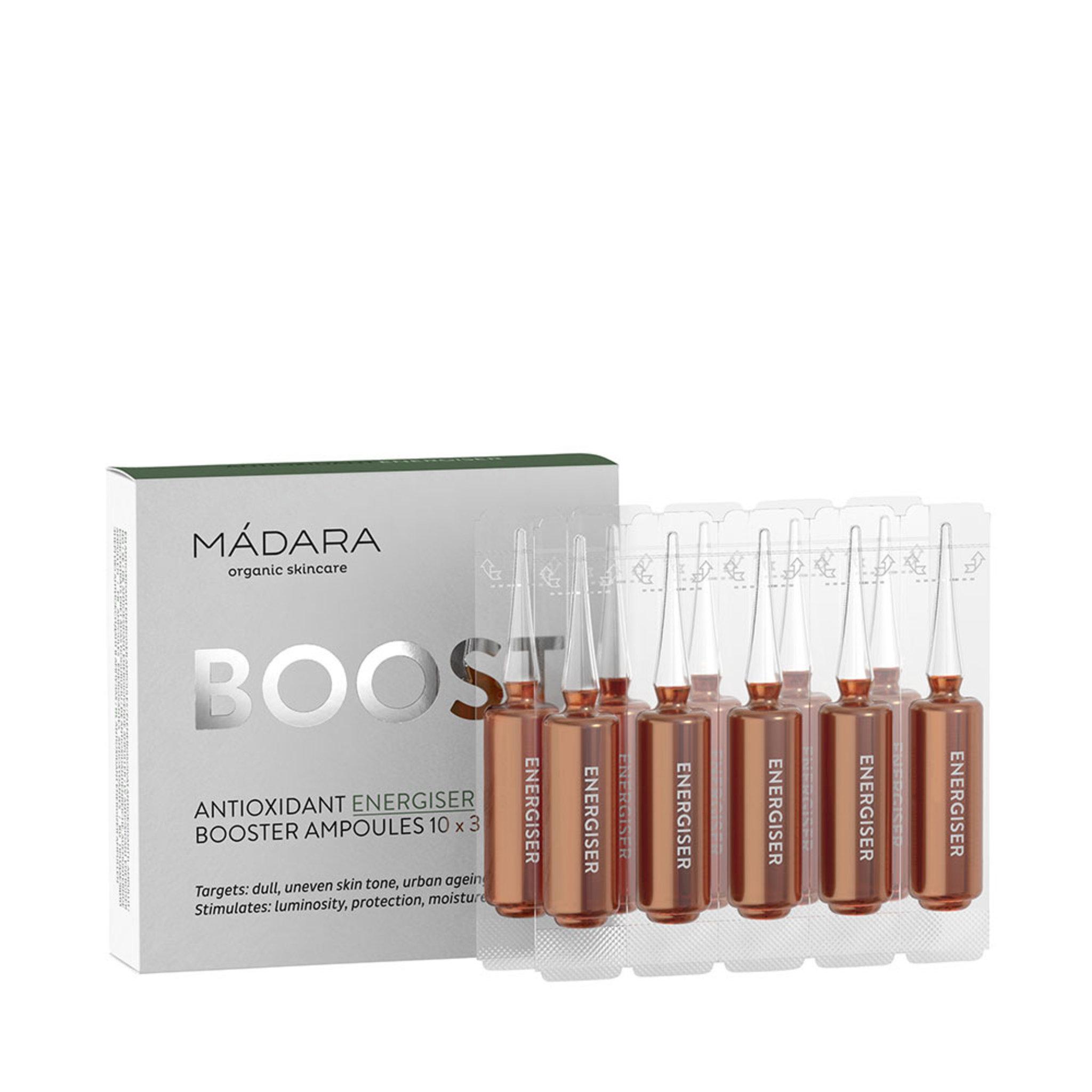 Antioxidant Energiser Ampoules, 3ml x 10pcs
