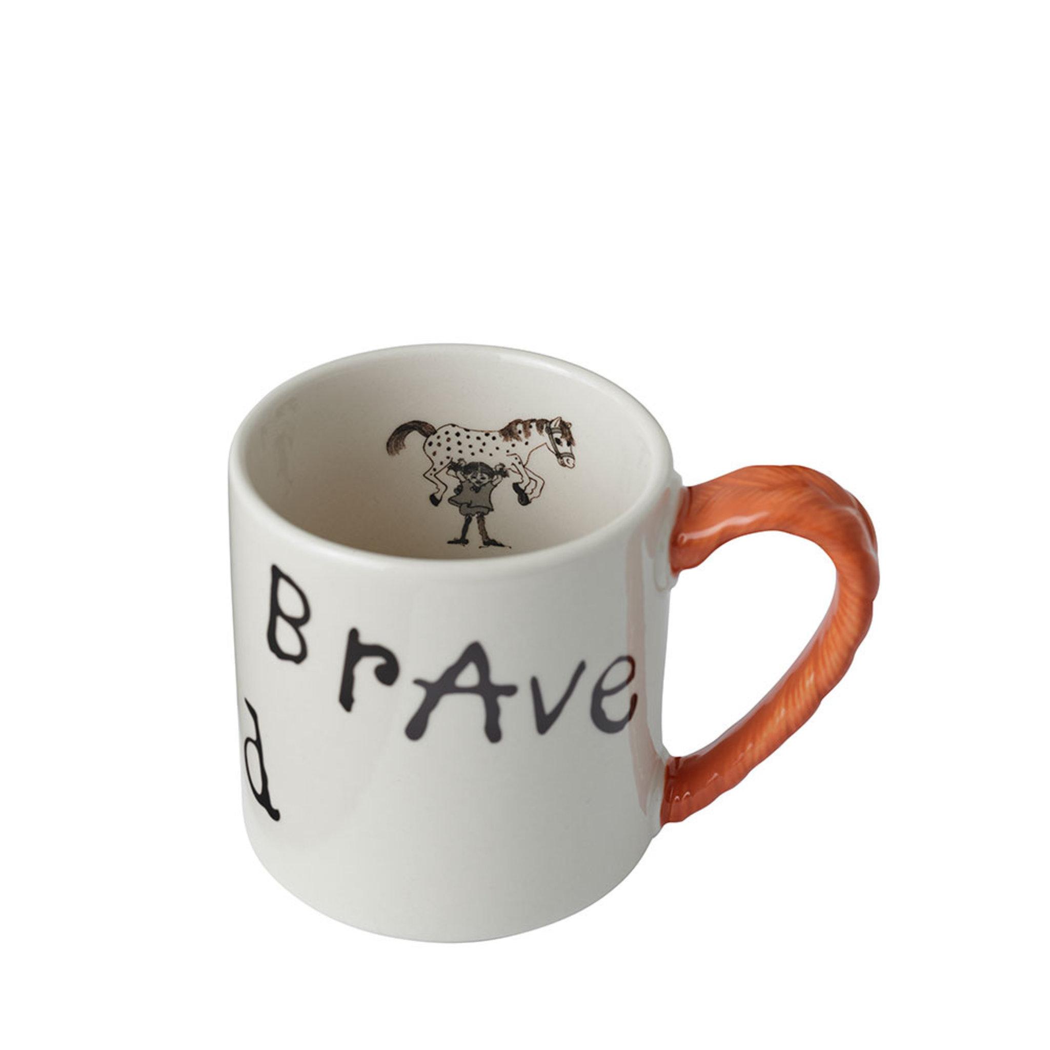 Pippi Jubileumsmugg: Strong Kind Brave 20 cl
