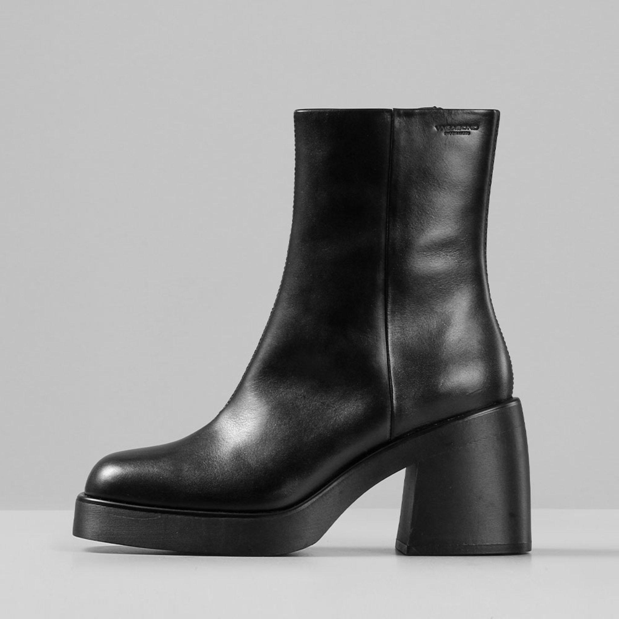 BROOKE Boots Heel Chunky