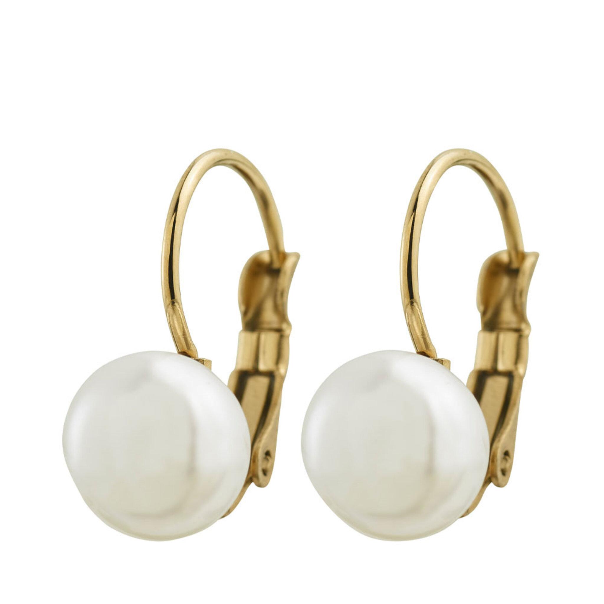 Berzelii Earrings Gold, ONE SIZE