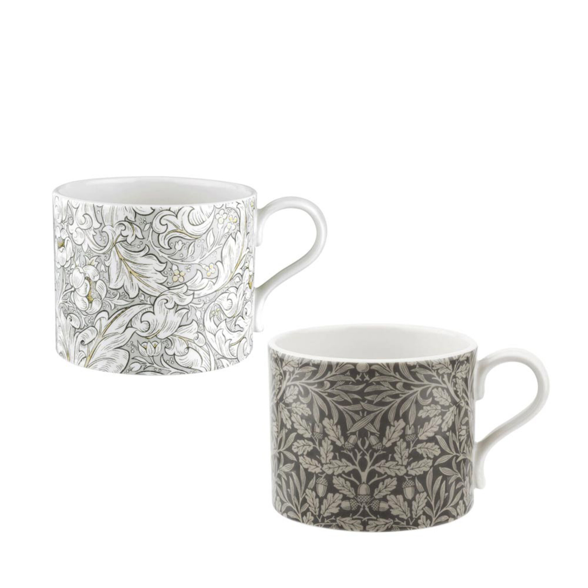 Pure Morris Mugs – Bachelors & Acorn set 034L 2-pack