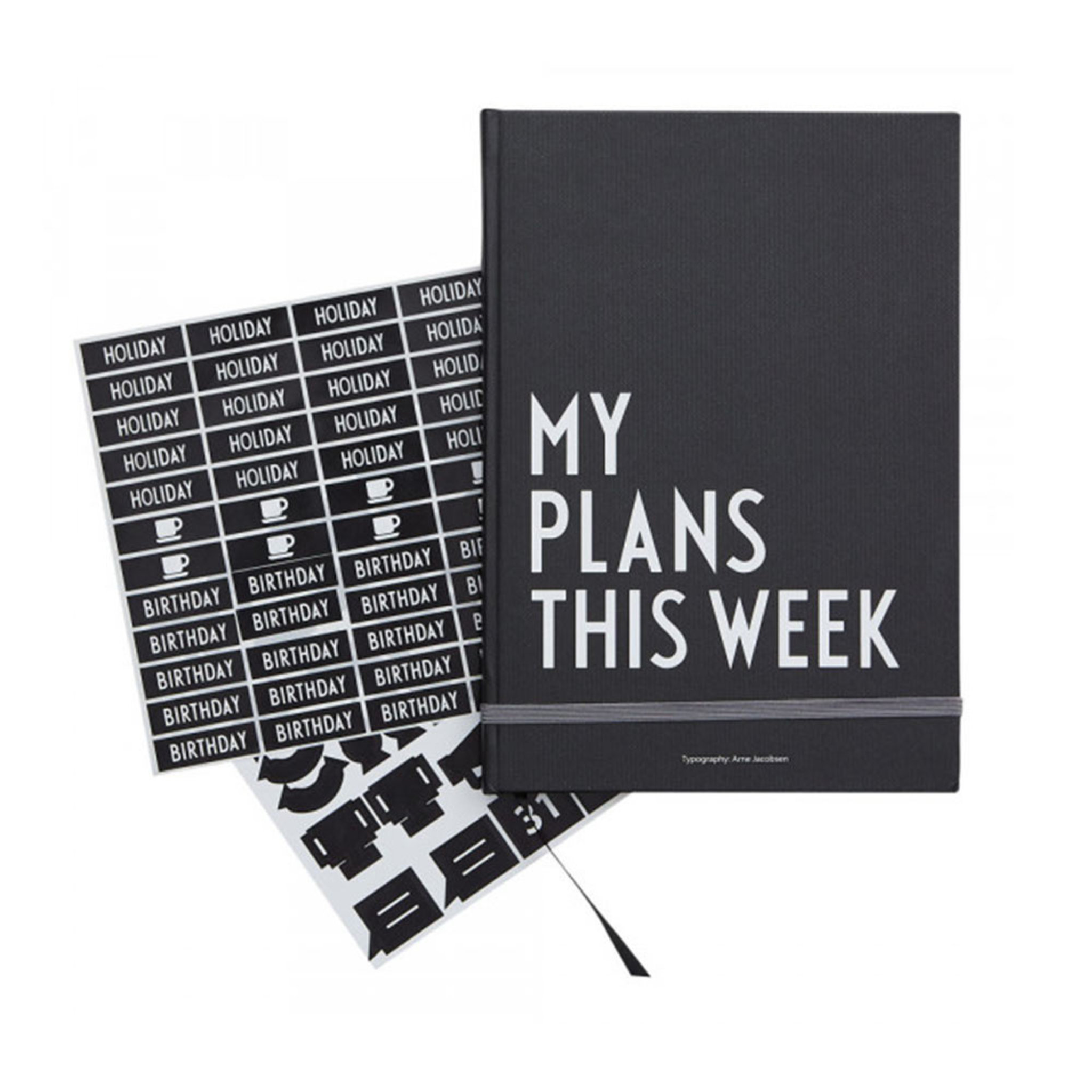 Veckoplanerare My Weekly Plans A5