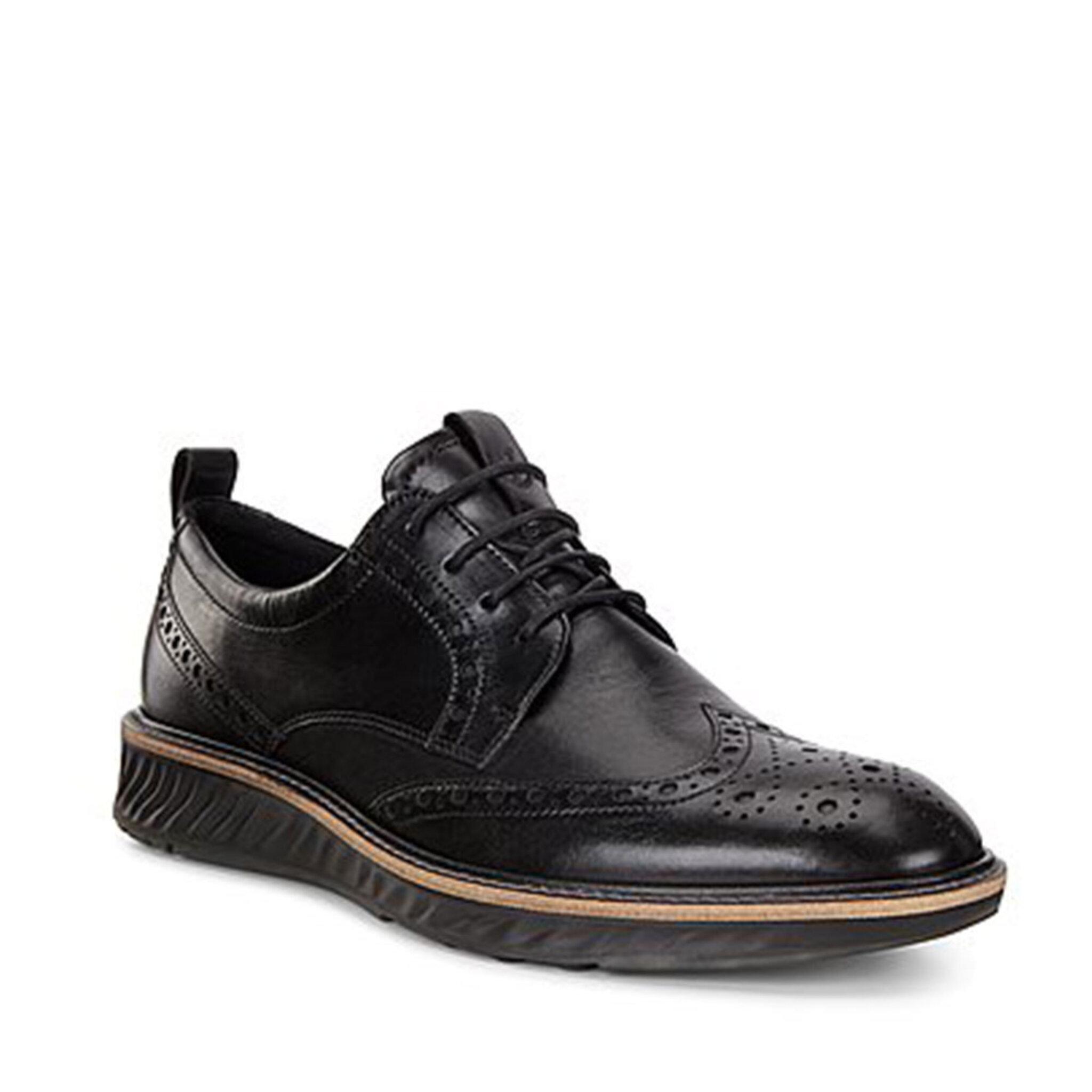 Skor Hybrid Black Santiago Shoes