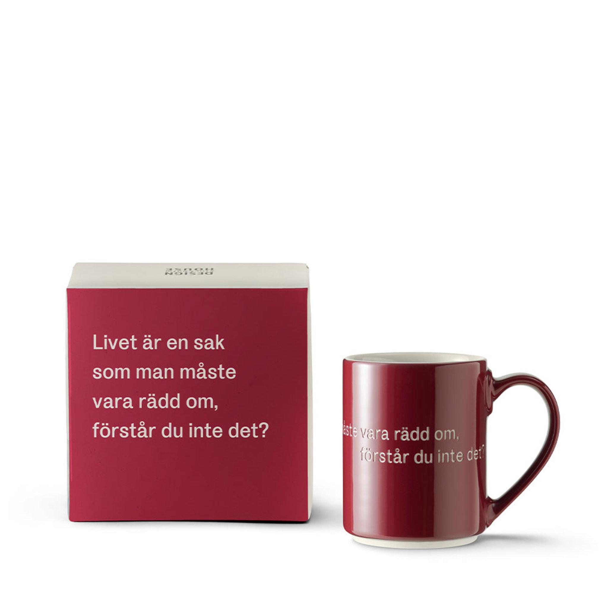 Mugg Livet är en sak x Astrid Lindgren