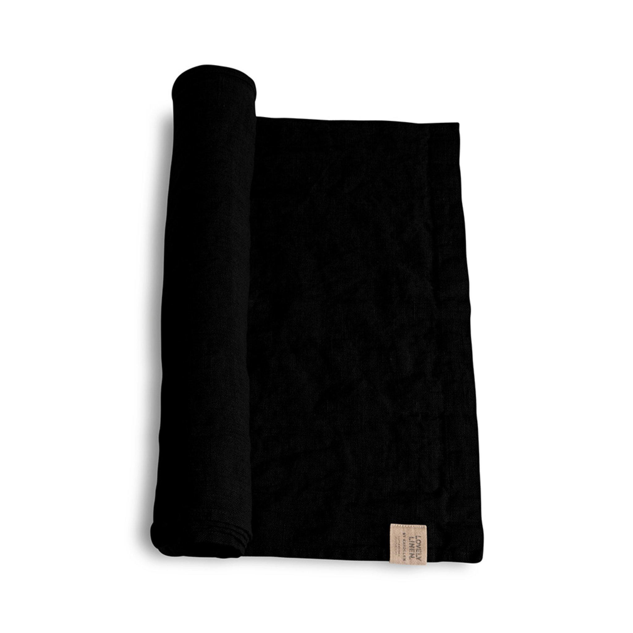 Löpare 45 x 150 cm Black