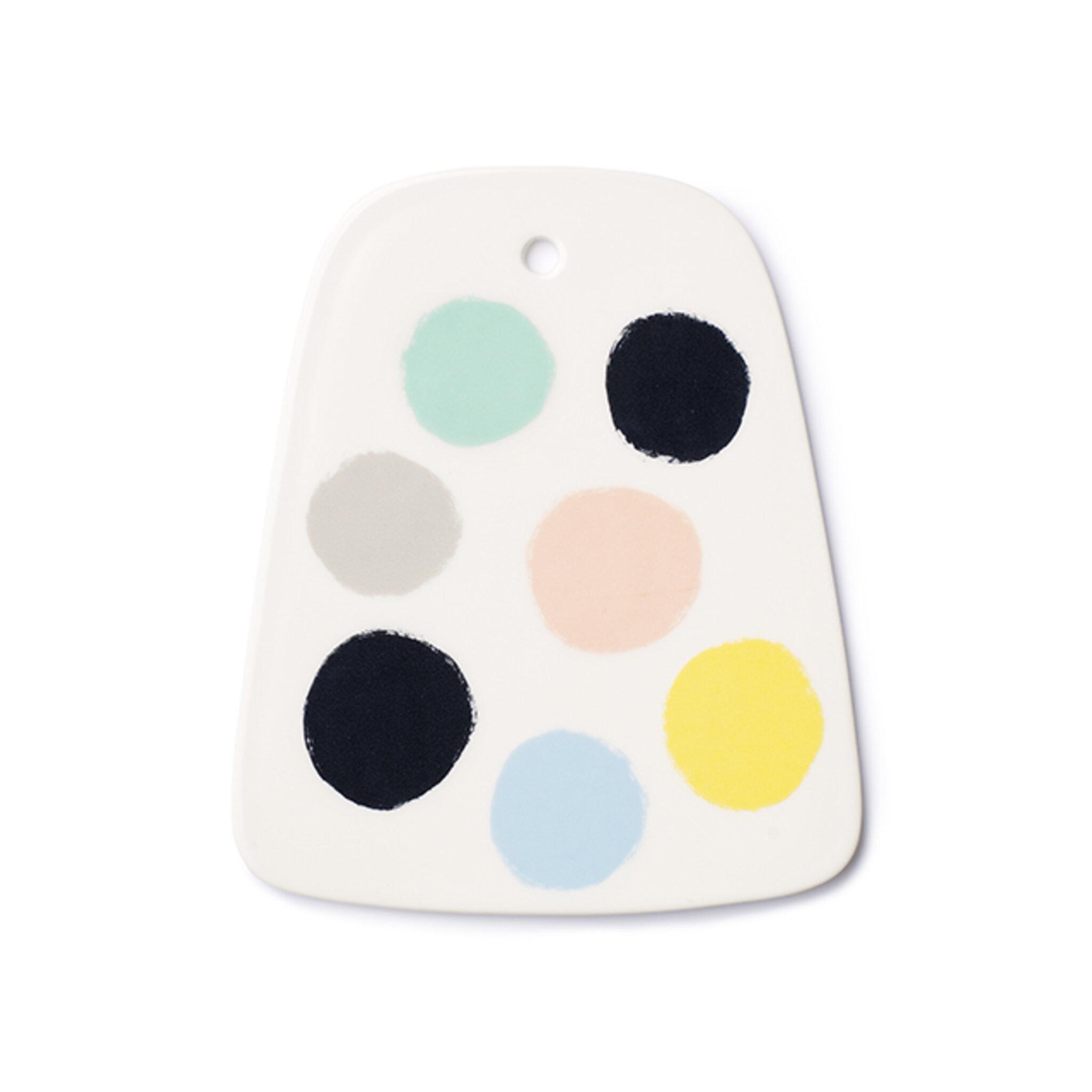 Porslinsbricka Dots