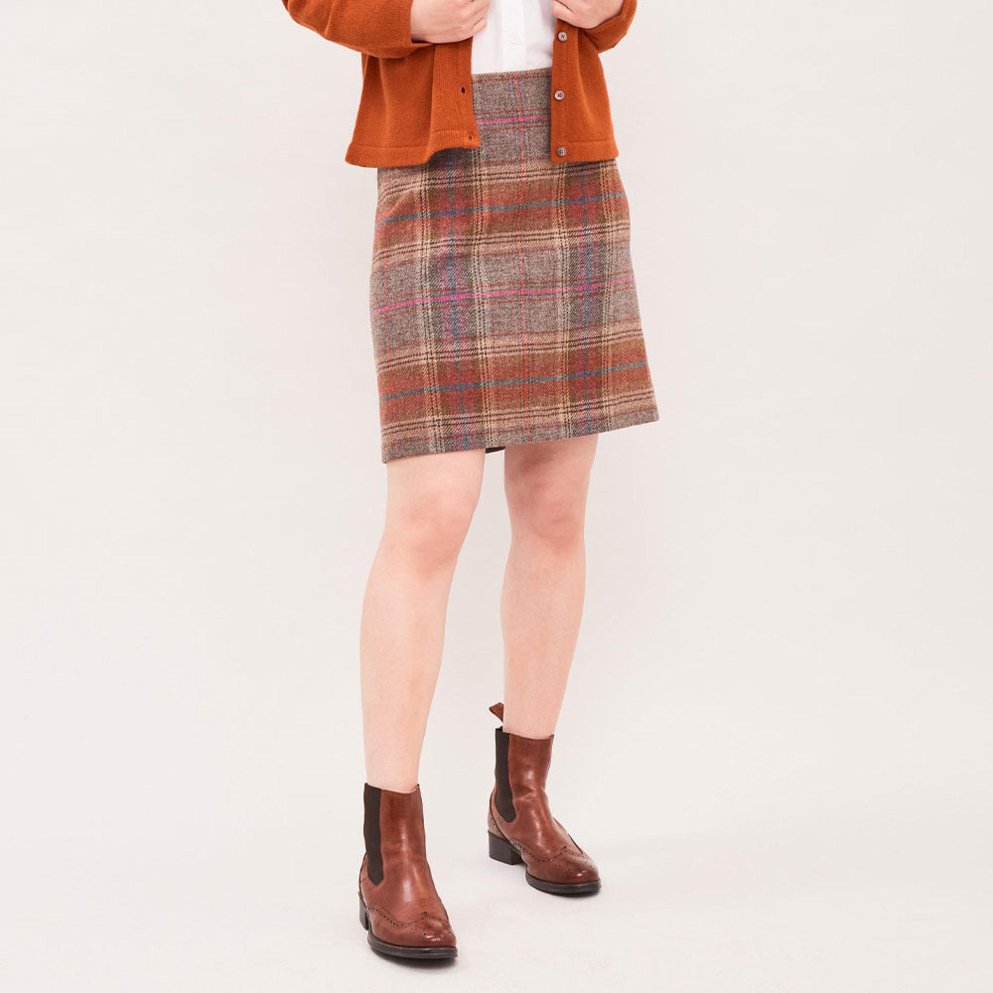 Morland Tweed Skirt