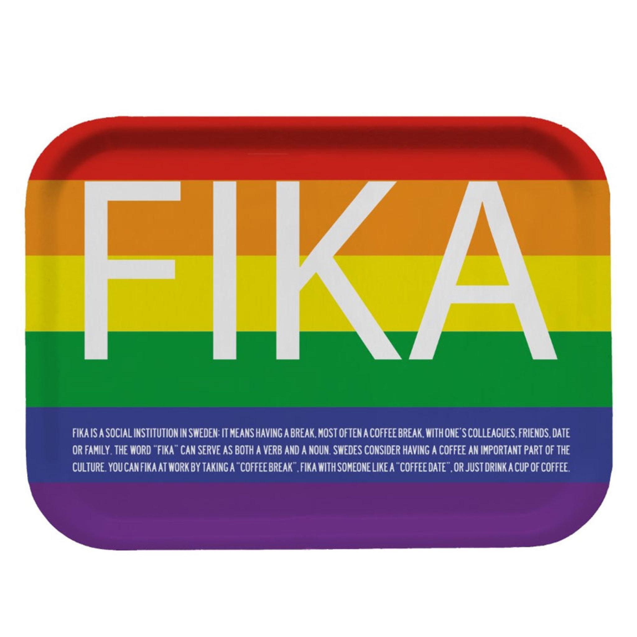 Bricka FIKA – Pride 27 cm