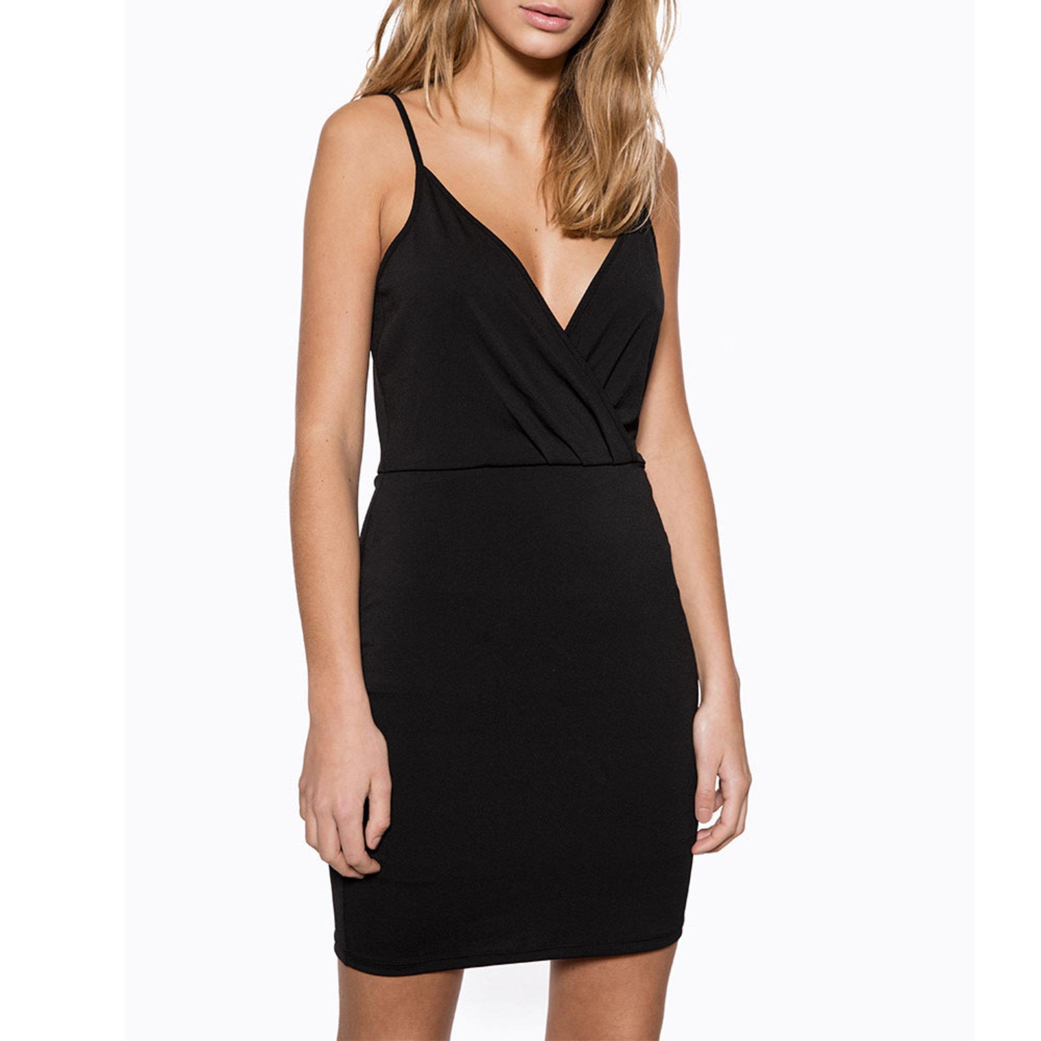Wrap Mini Dress