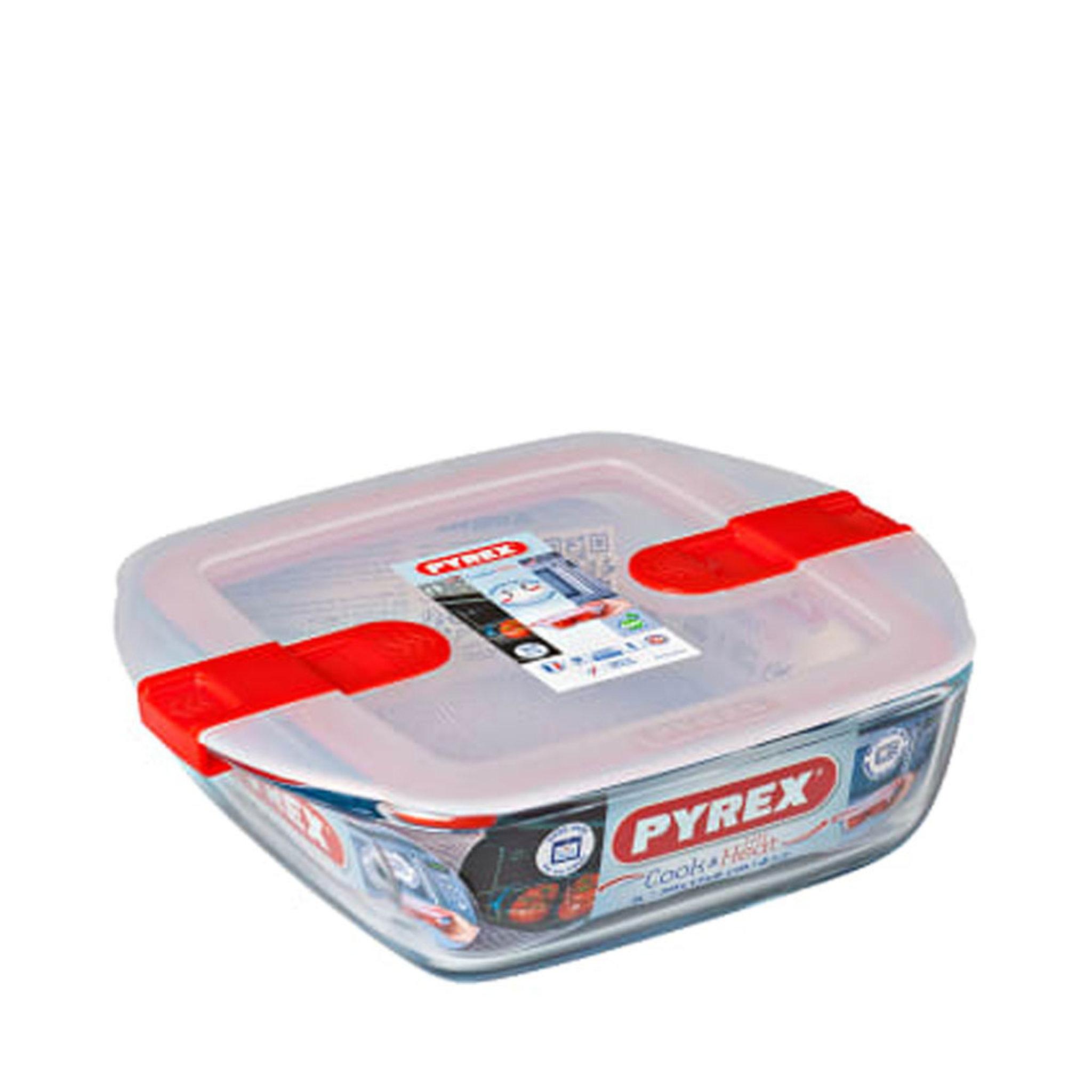 Ugnsform/Matlåda Cook and Heat med lock 1 liter