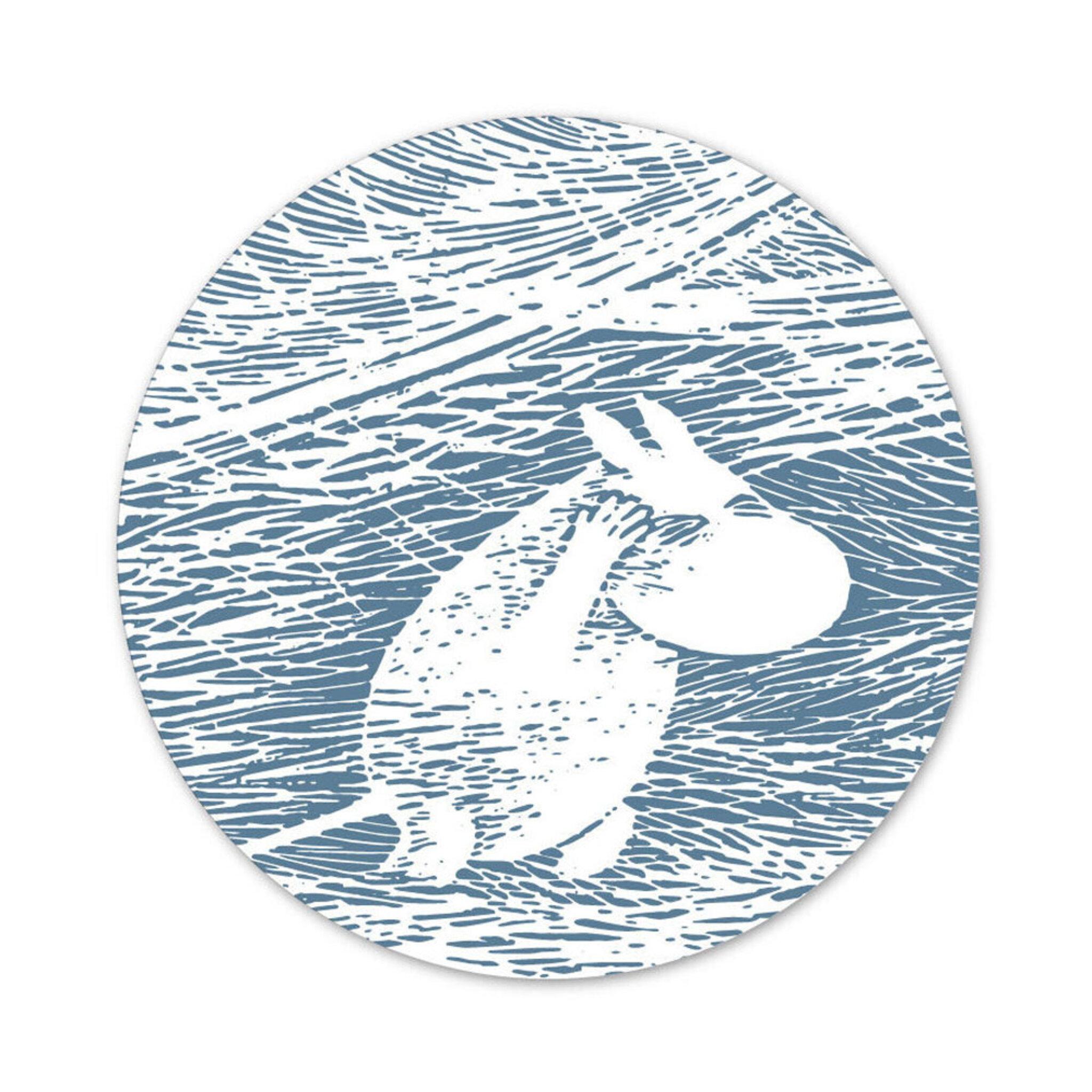 Grytunderlägg – Mumin Vinter 2020 – 21 cm 21 CM