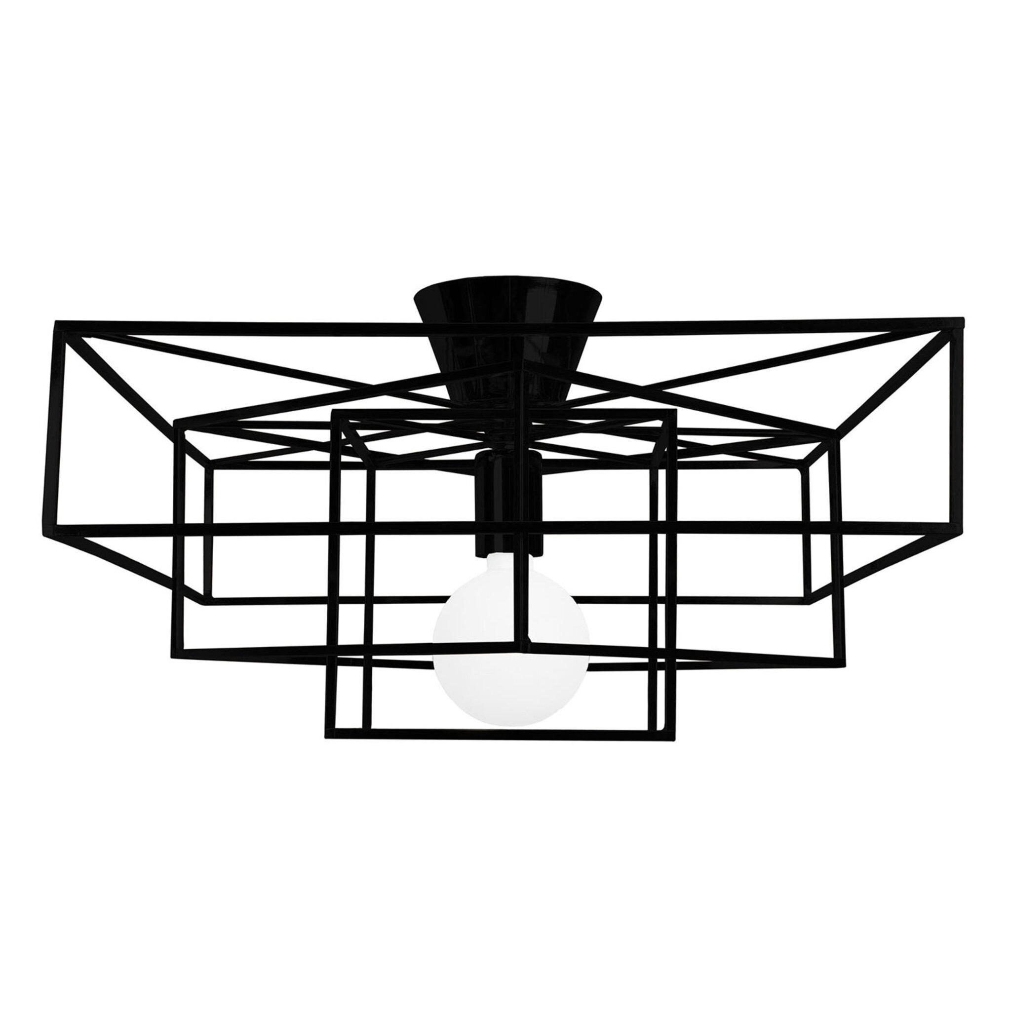 Plafond i matt utförande Cube