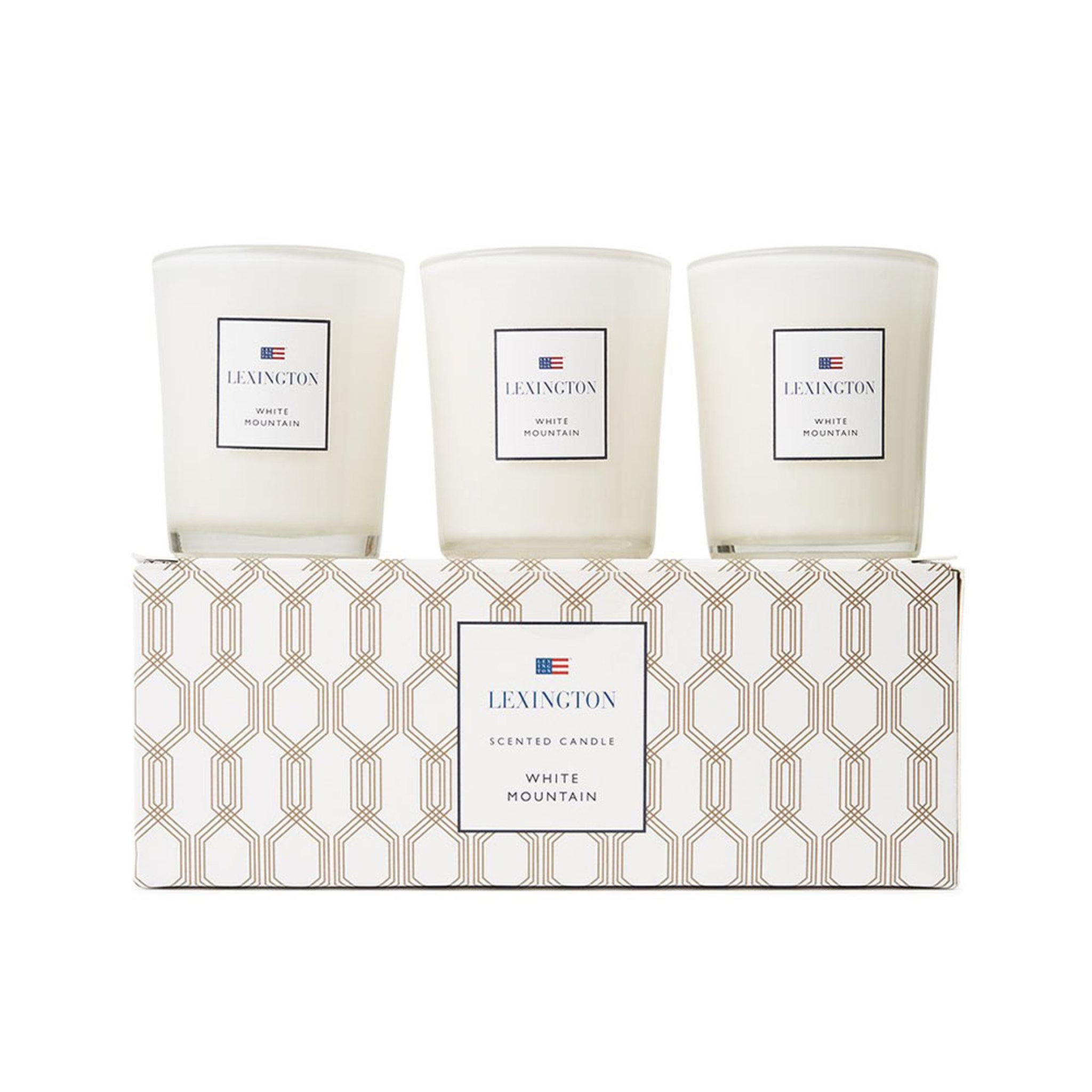Doftljus White Mountain – 3-pack