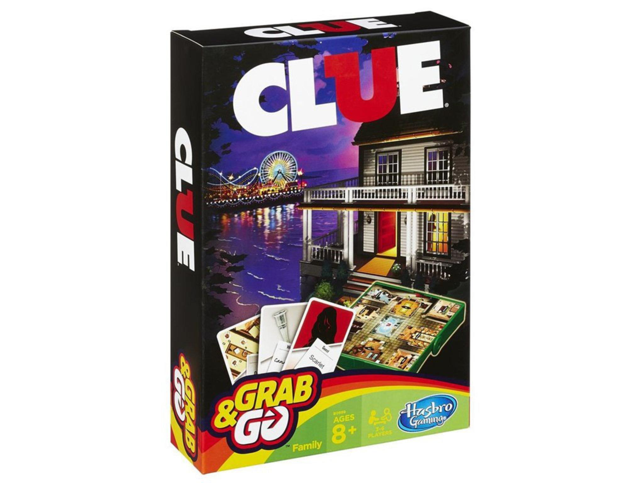 Resespel - Hasbro Cluedo