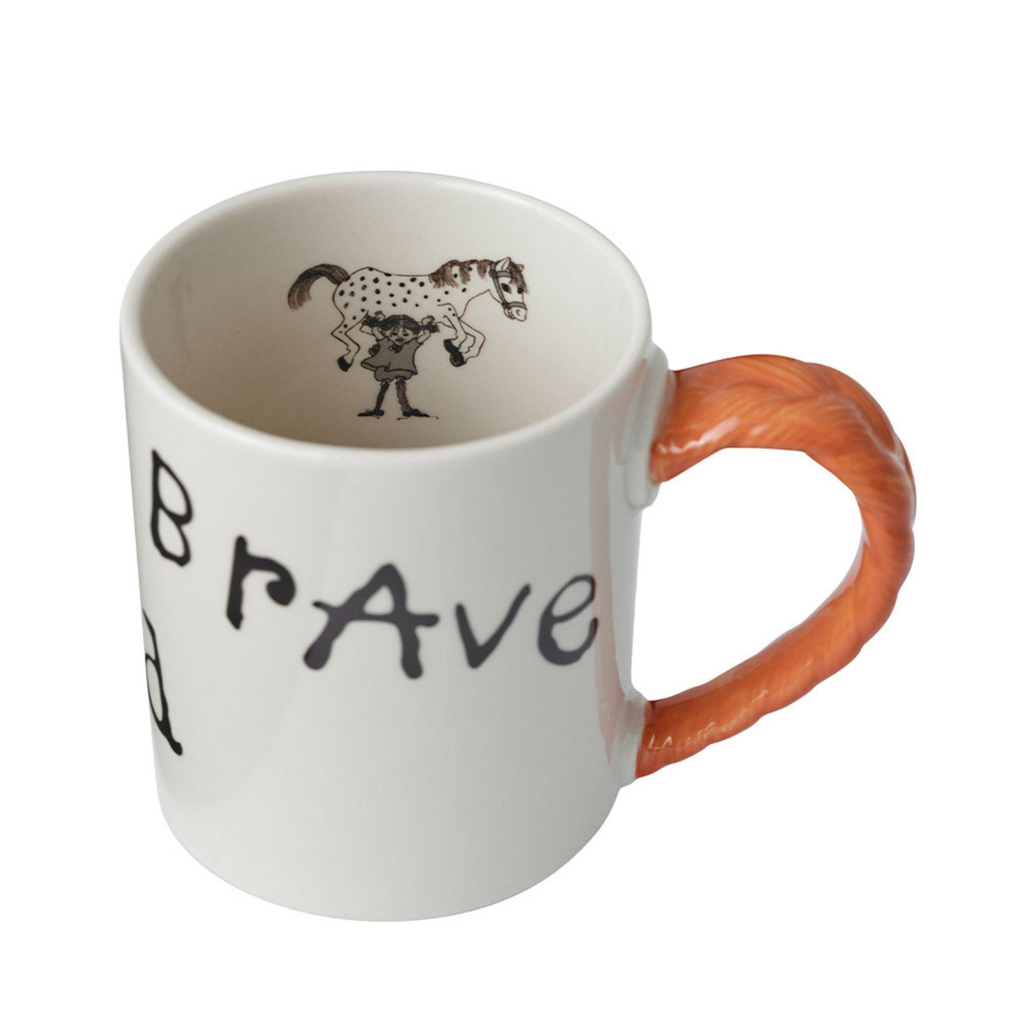 Pippi Jubileumsmugg: Strong Kind Brave 35 cl