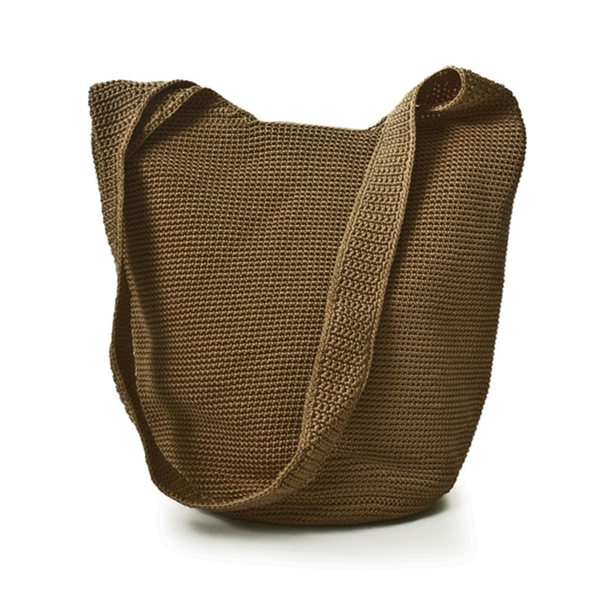 Body Bag Wood Crochet