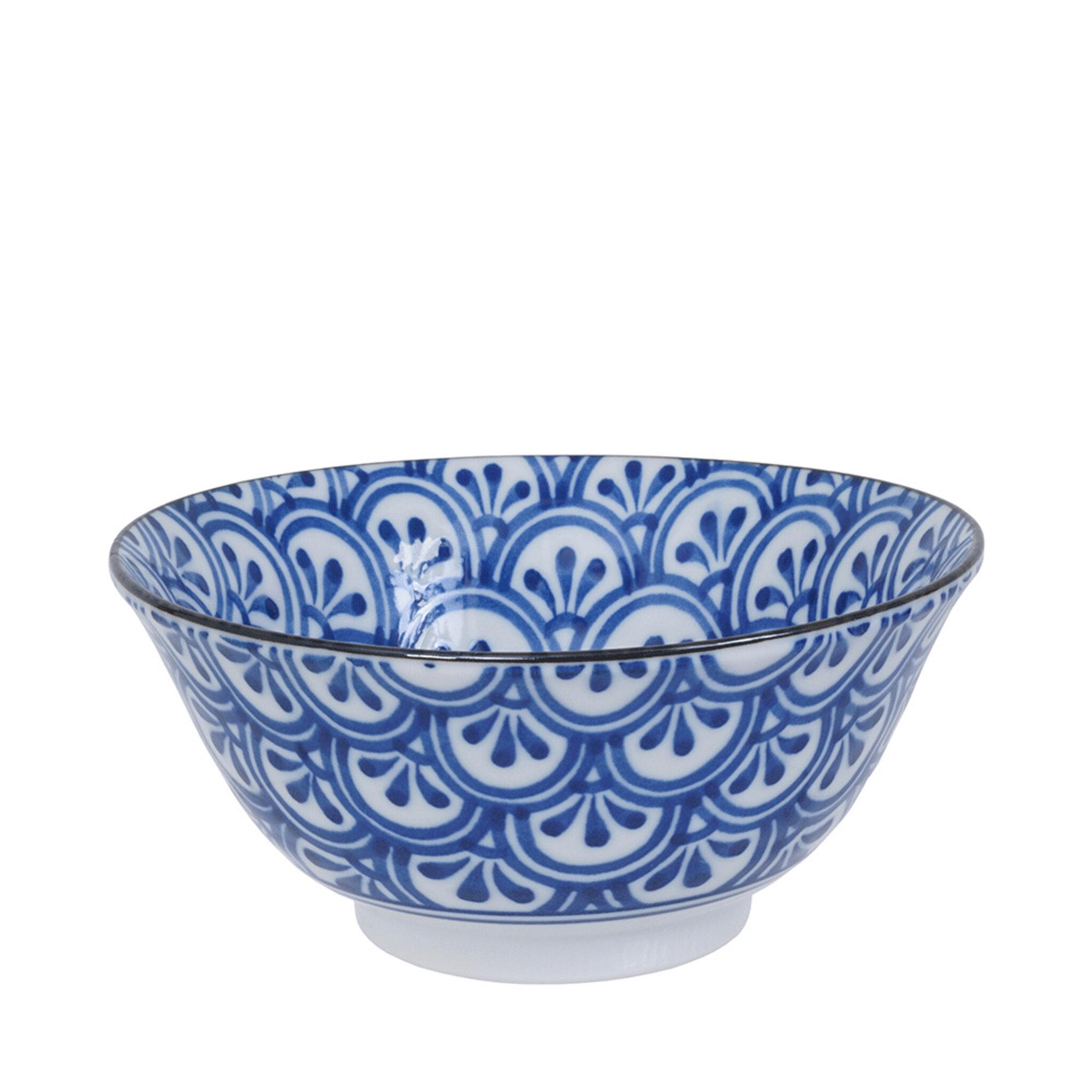 Skål Mixed Ø15 cm blå