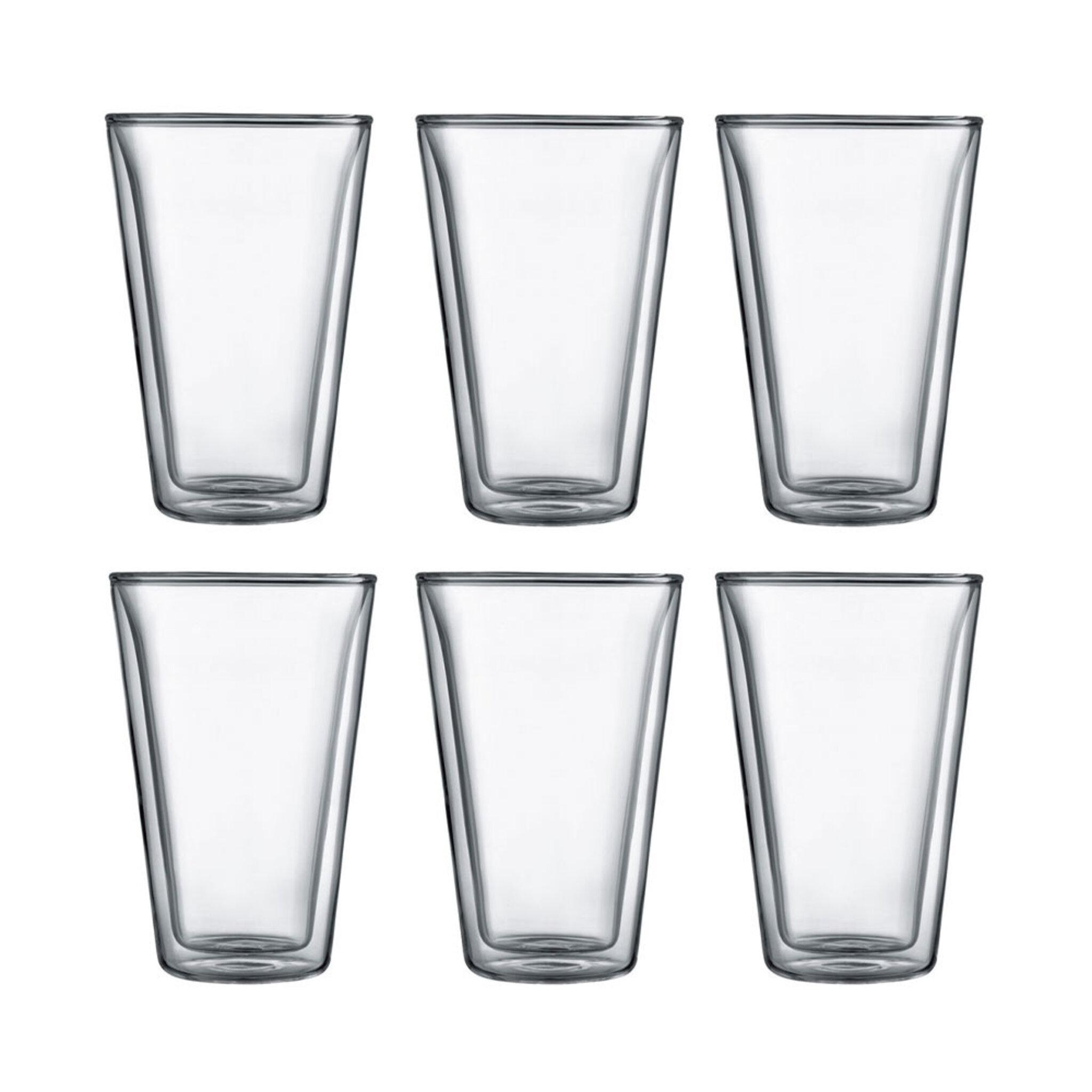 Glas med dubbelvägg 40 cl 6-pack 04L