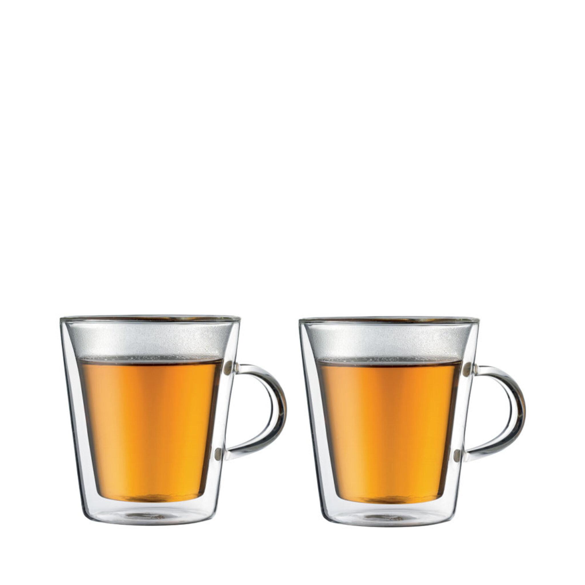 Dubbelväggat glas med öra 2-pack 20 CL