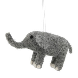 Hängande Ornament Elefant 11 cm