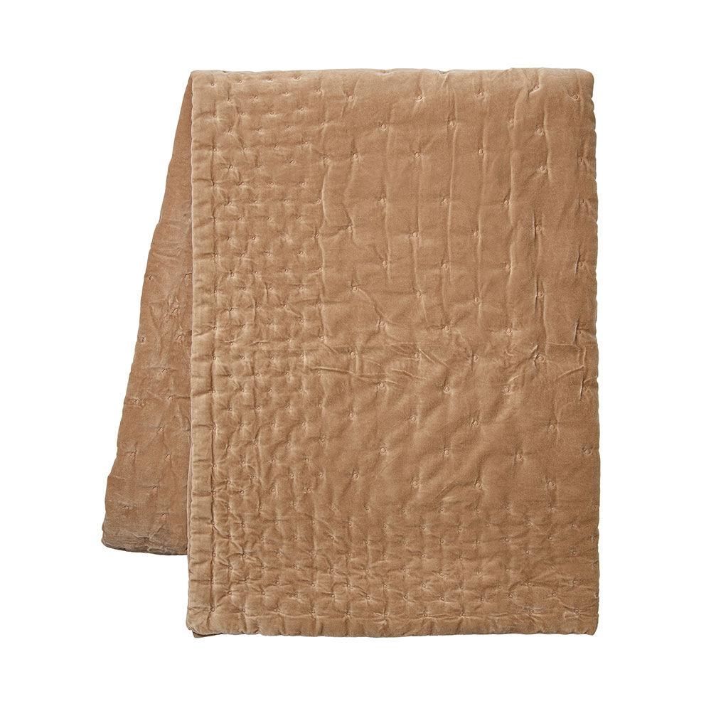 Överkast Paolo 270×260 cm kamelbrun