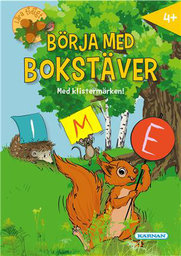 Pysselbok Lära tidigt - börja med bokstäver