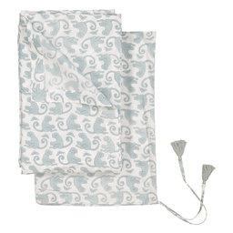 Flat Bed Sheet Pattern Monkey, 160x260 cm, Green Sea