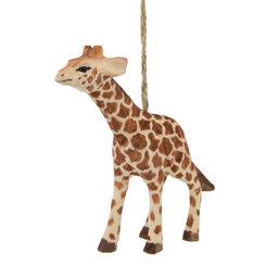 Ornament Giraff handgjord