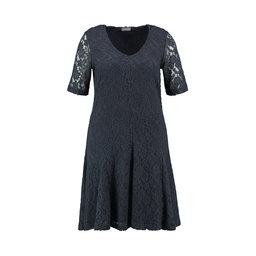 Spetsklänning Enfärgad