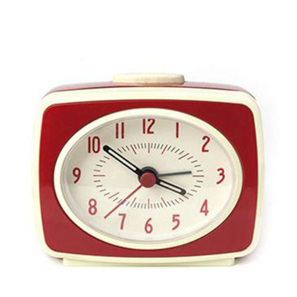 Väckarklocka röd