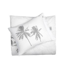 Påslakan Palm Tree White/Pebble, 150x210