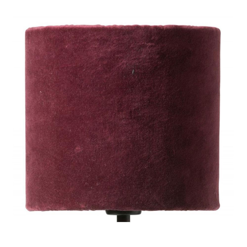 Lampskärm Sanna Ø17cm burgundy