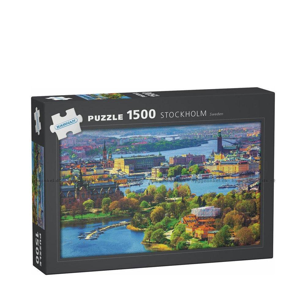 Pussel Stockholm 1500-bitar