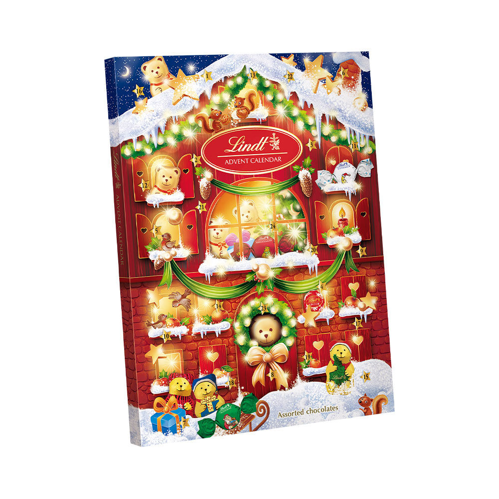 Advent Calendar Teddy 172g