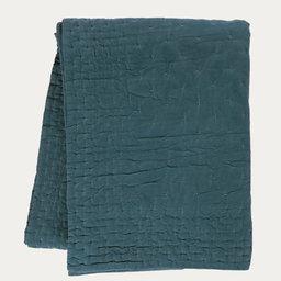 Överkast Paolo 270×260 cm grönturkos
