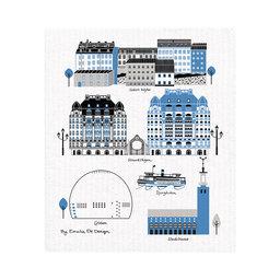 Disktrasa Mitt Stockholm 18×18 cm