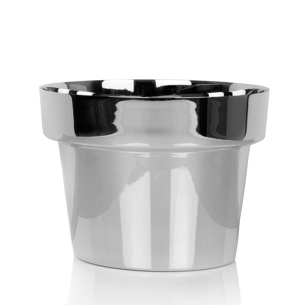 Flower Pot Mini Ø15 cm silver