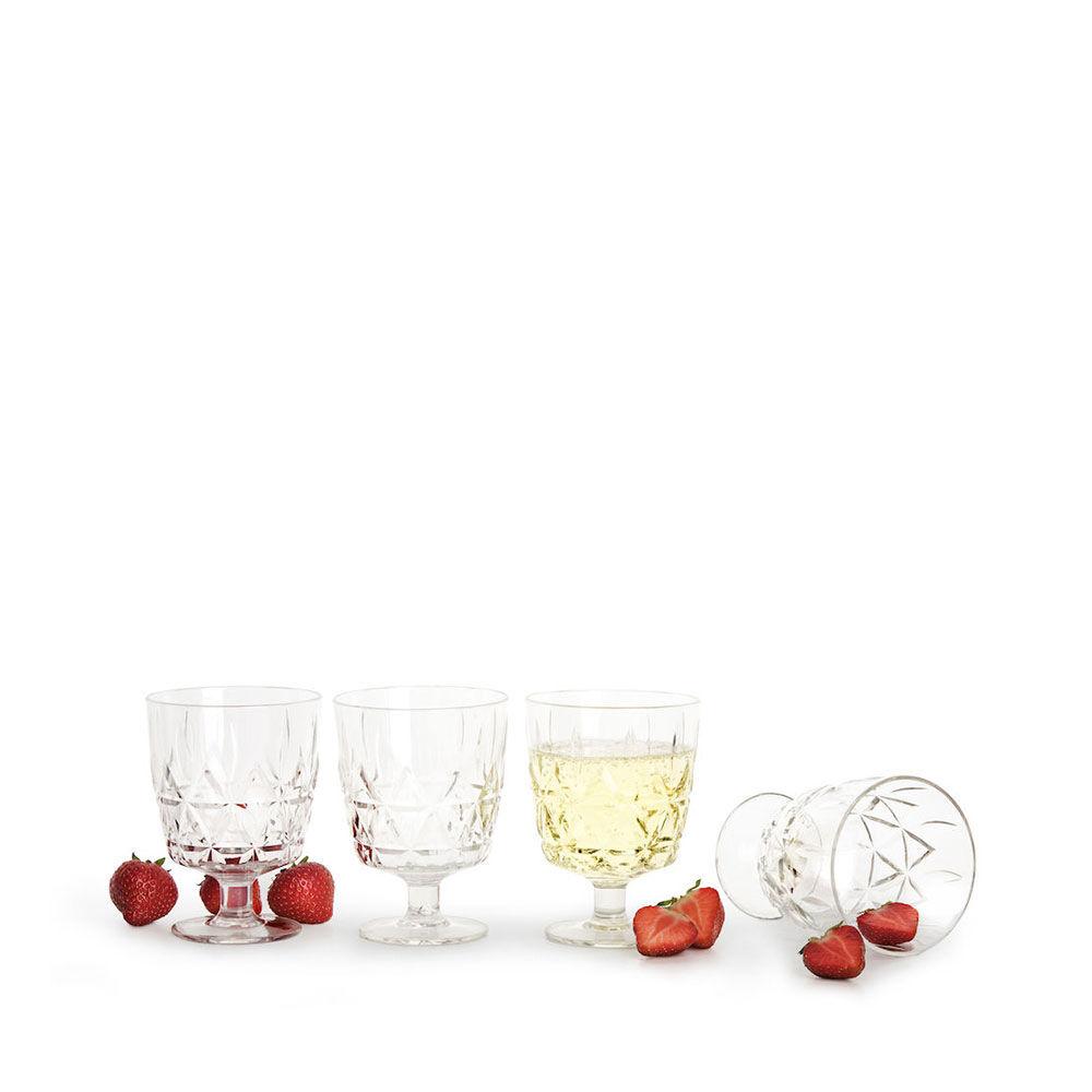 Picknickglas Akryl Nautic 4-pack