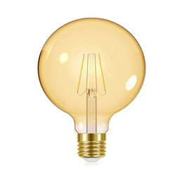 LED-lampa Globe 51 E27 Filament Gold