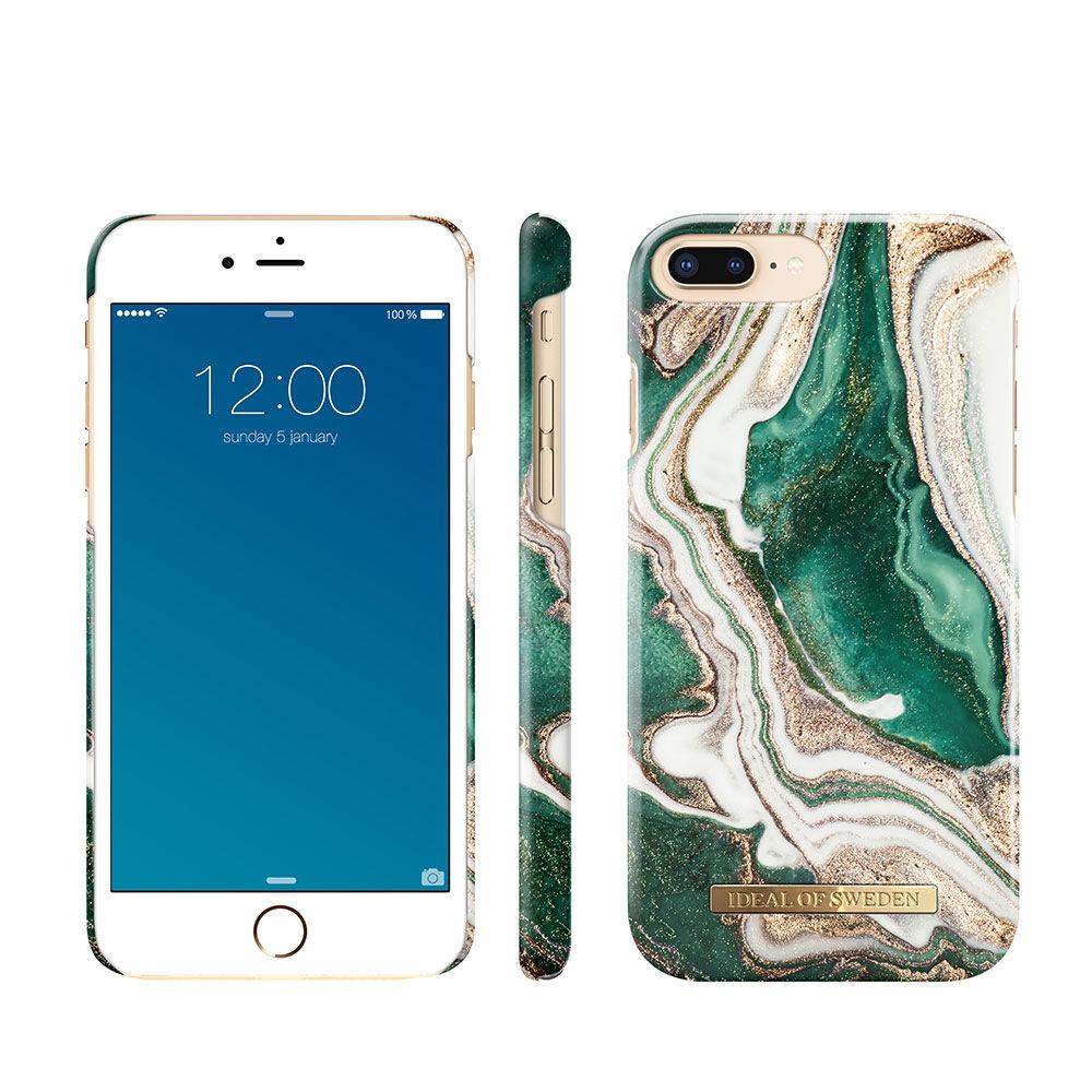 Mobilskal IPHONE 6/6S/7/8 GOLDEN JADE MARBLE