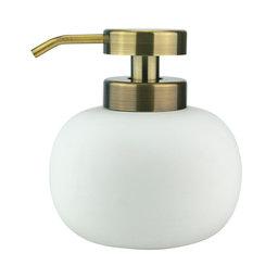 Tvålpump Lotus vit