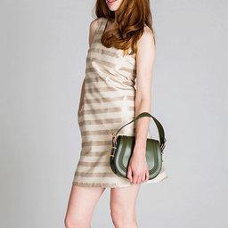 Dress Alexis Beige Stripe