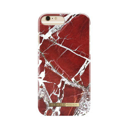 Mobilskal iPhone 6/6S/7/8 PLUS Scarlet Red Marble