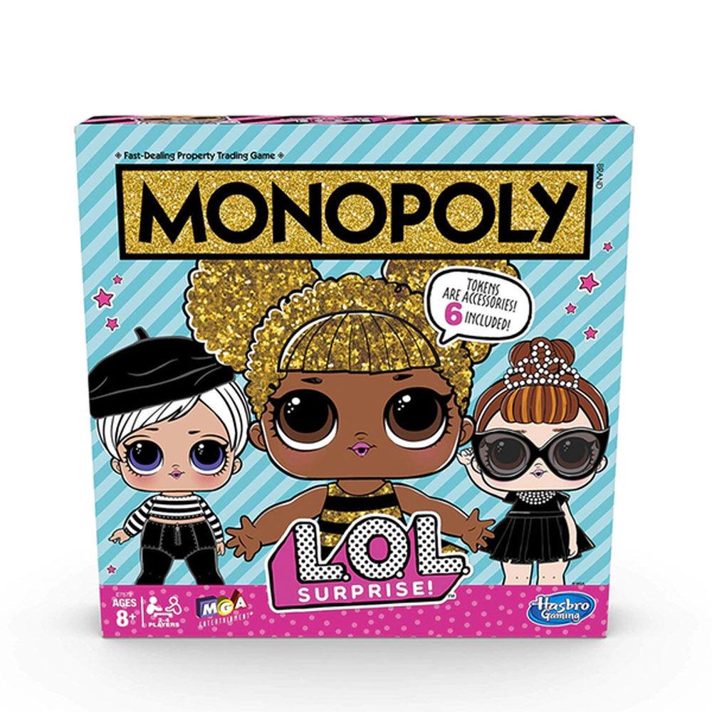 Brädspel Monopol LOL SURPRISE!