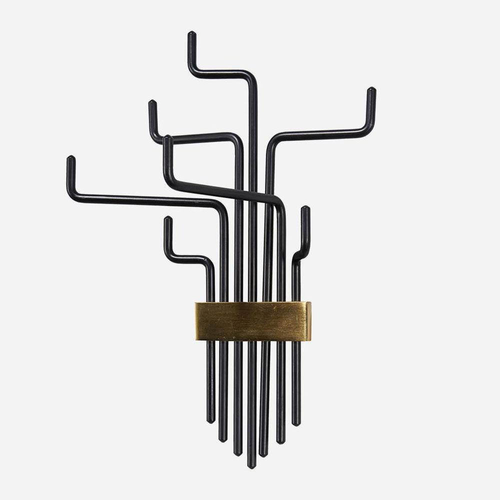 Klädhängare/Hylla Pipes 425 cm