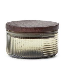 Förvaringsburk i glas 10×10 cm