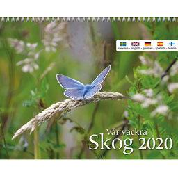 Väggkalender 2020 Vår Vackra Skog